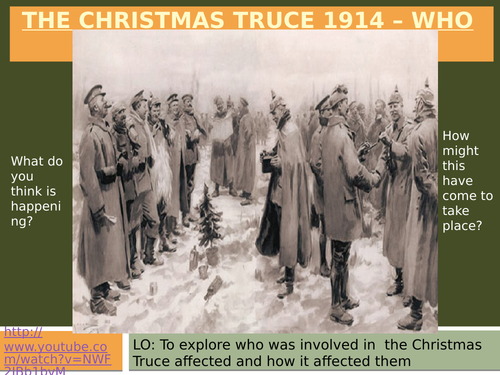 WW1 Who did the Christmas truce affect