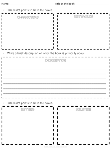 BOOK REVIEW COMPREHENSION AND BOOK REVIEW TEMPLATE