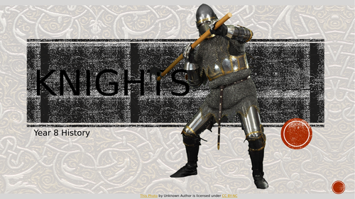Medieval Knights  and Coats of Arms