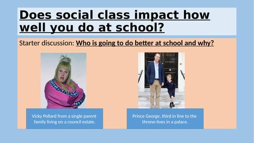 Eduqas 9-1 GCSE sociology of education bundle of lessons using Black Eduqas textbook