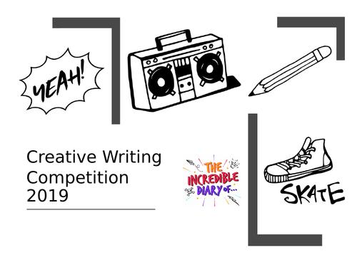 Week creative diary writing resources