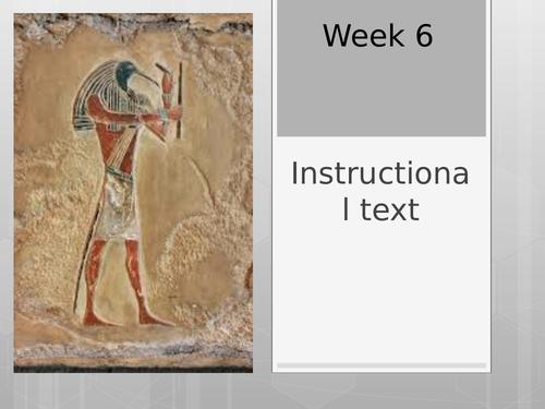 Instructions - Mummification
