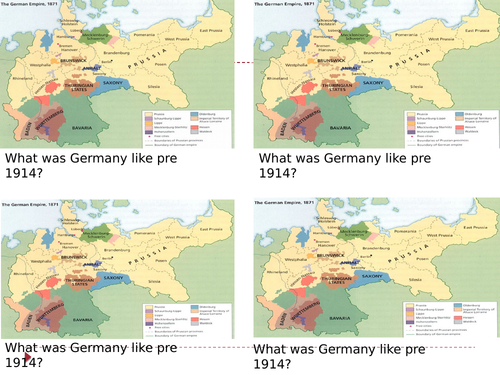 AQA History How was Germany Governed pre 1914