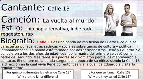 Calle 13 -la vuelta al mundo
