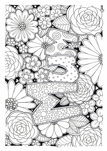 'Mum', Mothers' Day Colouring Sheet
