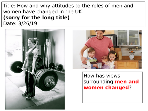 Relationships and families- AQA GCSE