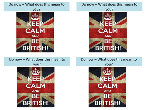 What makes you proud to be British