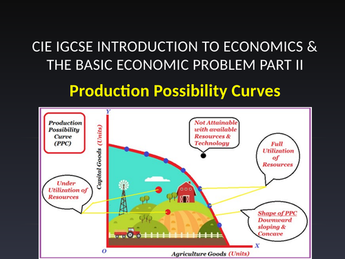 CIE iGCSE Unit 1 The Basic Economic Problem part ll
