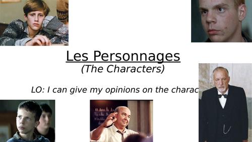 Les Choristes character descriptions
