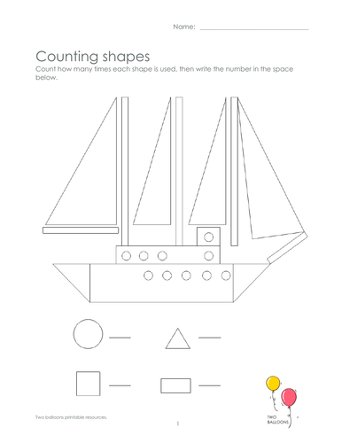 Shape hunting: sailing boat