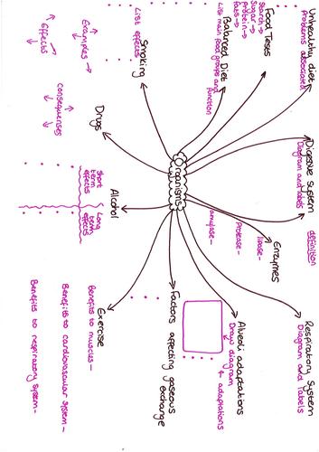 Yr 8 Organisms Revision Mat