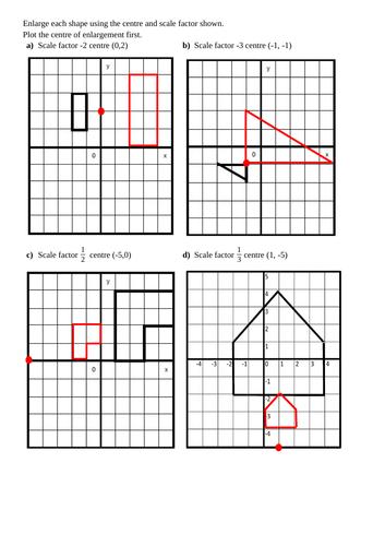 Enlargements- KS4 (Complete Lesson)