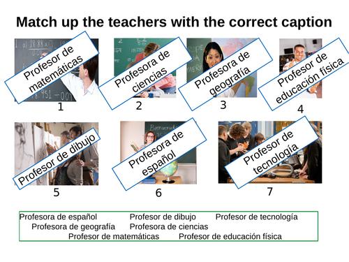 Mira Los Profesores Description