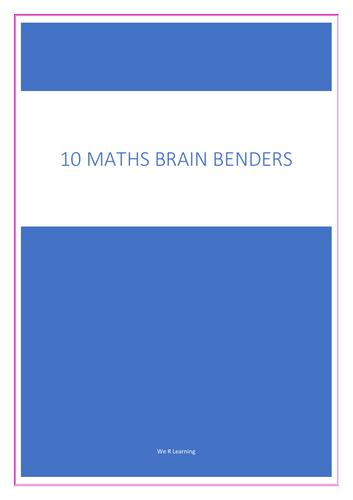 10 Maths Brain Benders for KS2