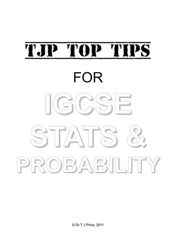 IGCSE - EDEXCEL Maths Revision Tips (ALL TOPICS)