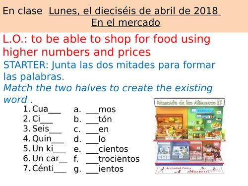 La Comida Mira 2 Unit 4-Bundle