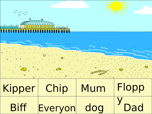 Kipper, Floppy and Family -  4 PowerPoints