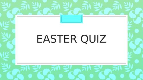 Easter  quiz , Christianity , Religion