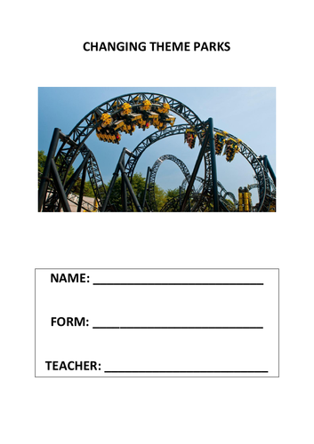 Changing Theme Parks