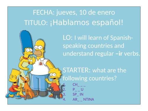Hablamos Español Mira 1