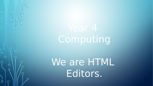 Full KS2 HTML Coding SoW April 2019