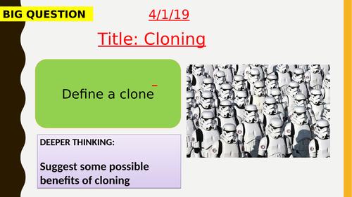 AQA new specification-Cloning B14.5