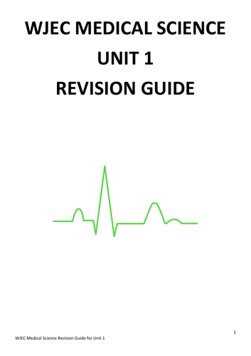 WJEC Medical Science Revision Guide