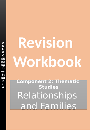 Relationships and Families Revision Workbook