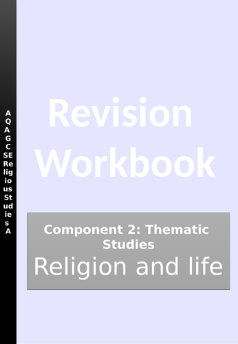 Religion and Life Revision Workbook