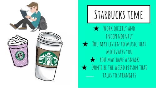 Starbucks Revision Time - Revision Poster