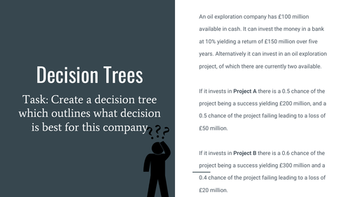 Decision Trees Revision