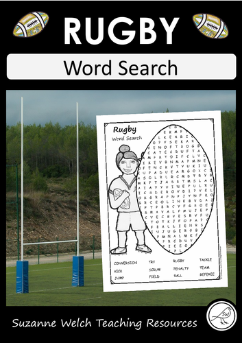 Rugby Word Search FREE