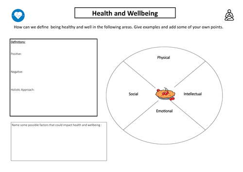 Btec TECH Level 2 Revision worksheets Unit 3 - physical and life style factors