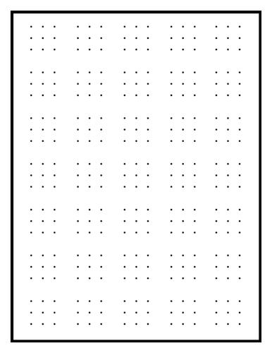 Dotty & Grid Paper - 11 paper varieties!