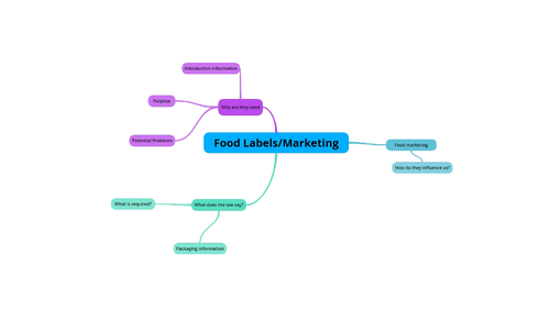 AQA GCSE Food Preparation & Nutrition section 4 lesson 3: Food Labelling & Marketing