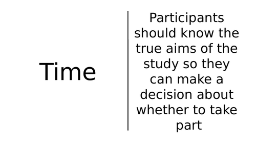 Research Methods PERVRT Dominoes