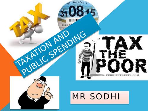 Tax and Public expenditure ECONOMICS