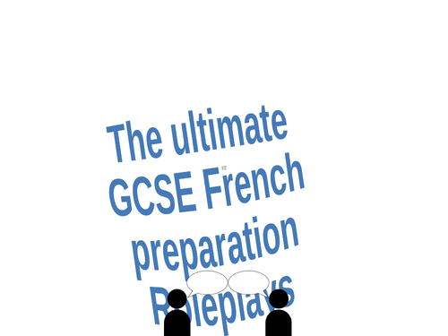 GCSE French roleplays