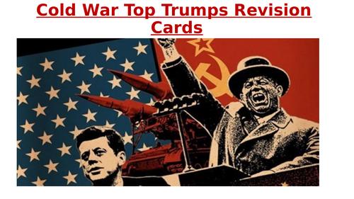 Cold War Revision Cold War Top Trumps