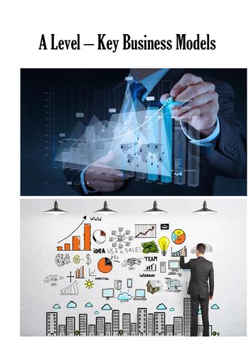 AQA A-Level Business - Key Models