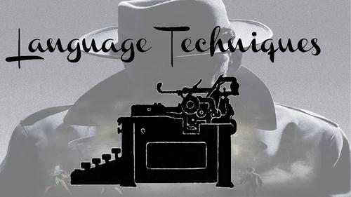 An Inspector Calls Language Analysis