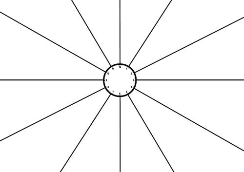 Blank Revision Clock PDF