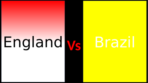 England vs Brazil , Differences, Facts , geography