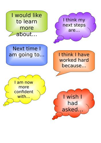 Self/Peer assessment bubbles
