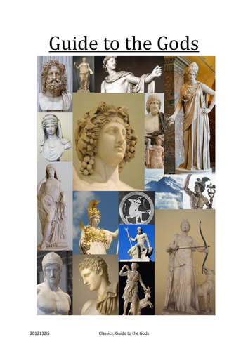 OCR Athens Revision Guide on the Gods