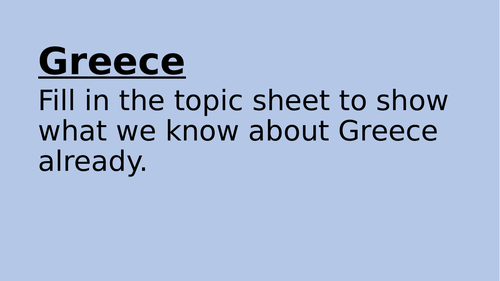 Powerpoint Greece Country Geography