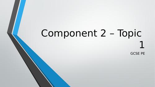 Edexcel GCSE PE Component 2 Revision PowerPoints