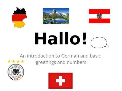 Hallo- A basic introduction to the German language