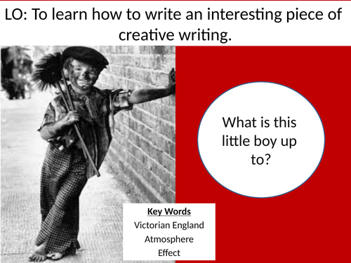 Creative Writing Lesson Introducing Victorian Era - Fun Lesson - Got Outstanding in Observation!
