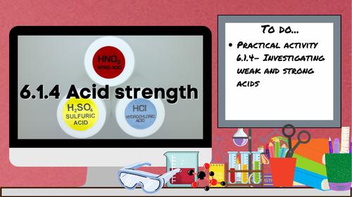 KS3 AQA Activate 6.1.4 Acid strength